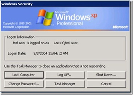 forgot user password windows xp