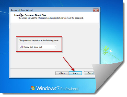 reset password on computer windows 7